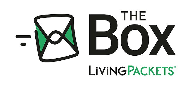 THE BOX LivingPackets Logo